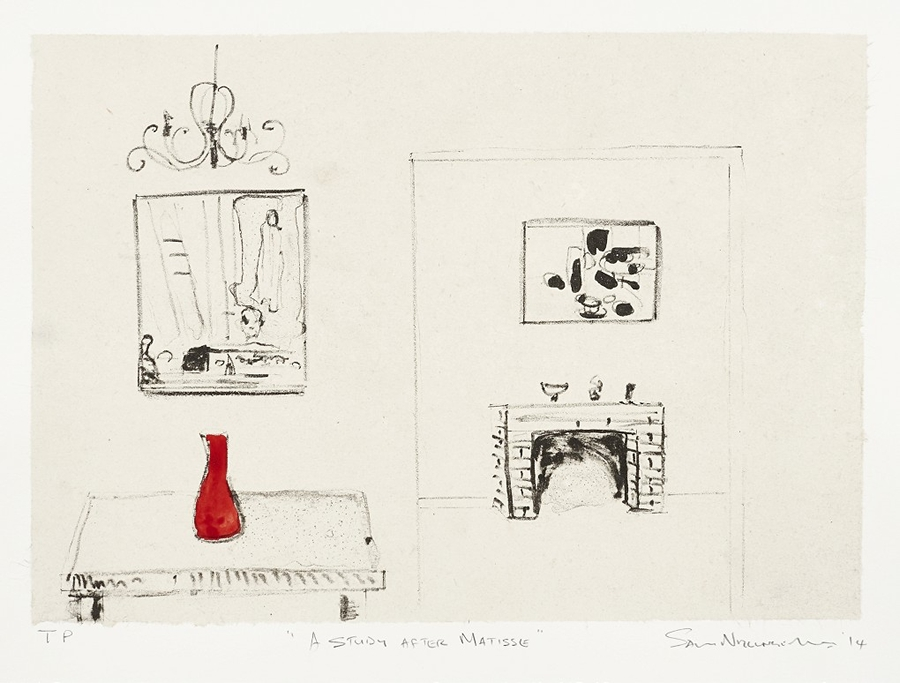 A study after Matisse
